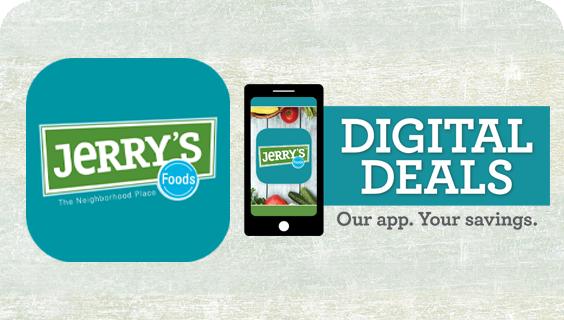 Jerry's Foods App